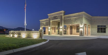 Exterior details complement the architectural expressions within the community.