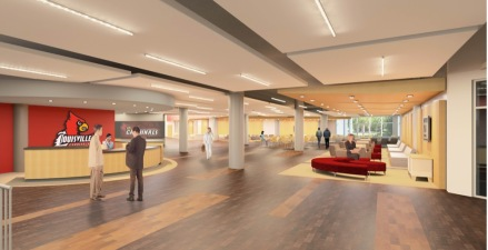 Proposed Conference Center Lobby