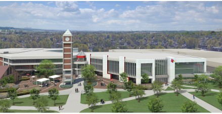 U  of  L  approves $40 million renovation of student activities center