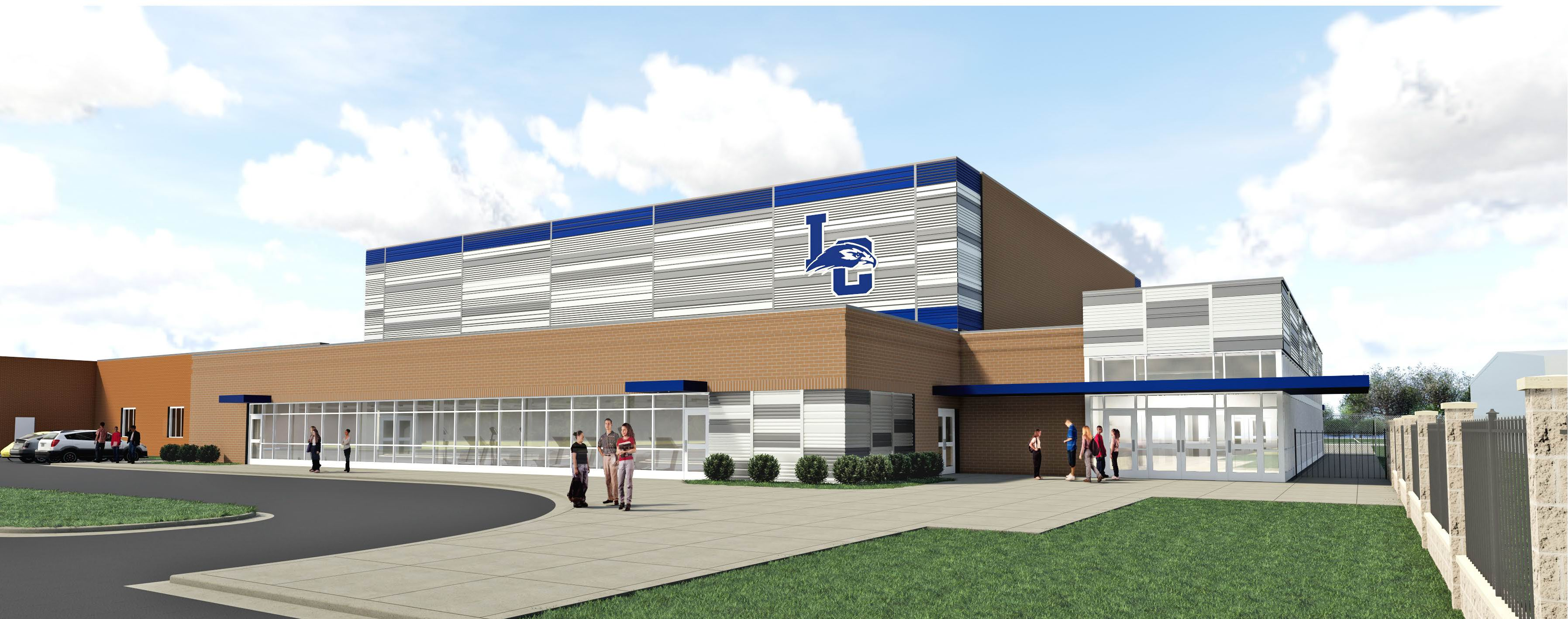 proposed new gymnasium