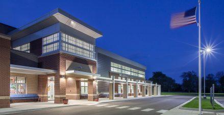 Taylorsville Elementary net zero energy school