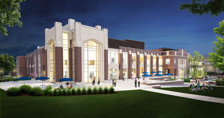 Morehead Student Center New Exterior View