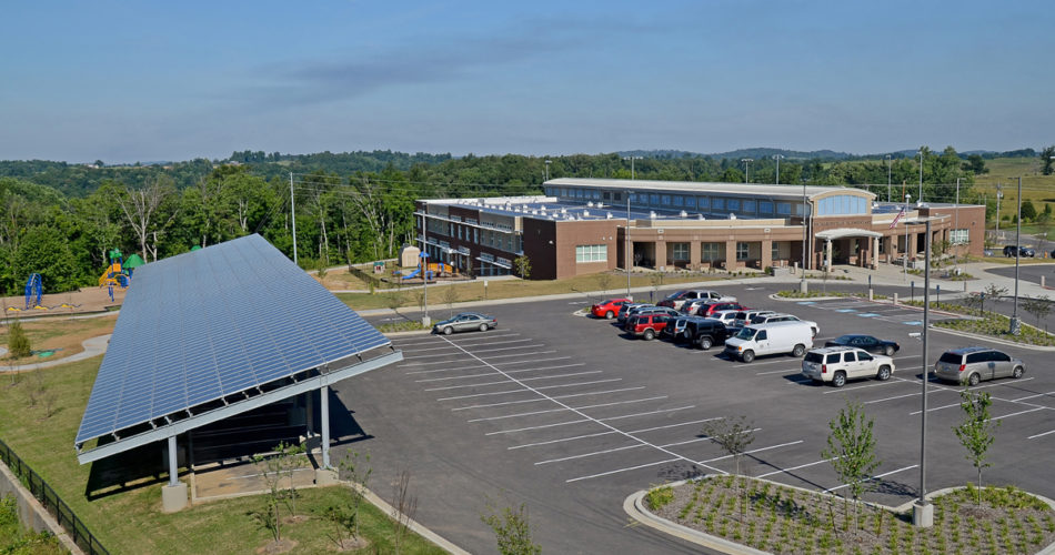 Richardsville Elementary - The Nation's First Net Zero Energy Public School - ICF school