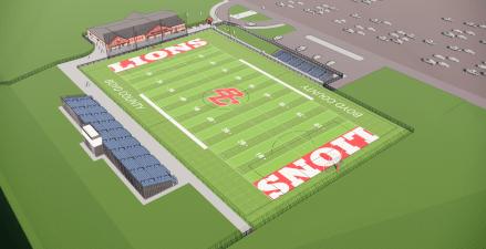 Boyd County High School football and soccer complex
